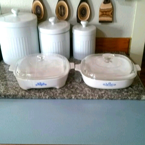 Corning Ware Casserole Dishes